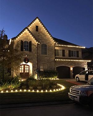 Installation of Christmas Lights in Edmund, OK